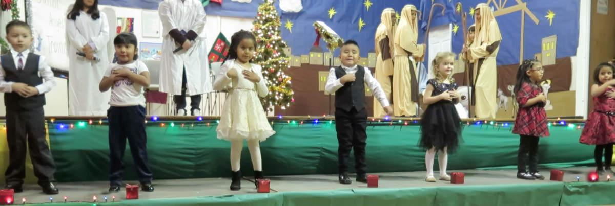 Christmas Pre K 2019 St Anthony Zuni Mission School
