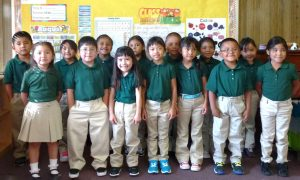kindergarten class St Anthony Zuni Mission