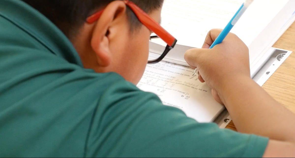 Study Time at St Anthony Zuni Mission School
