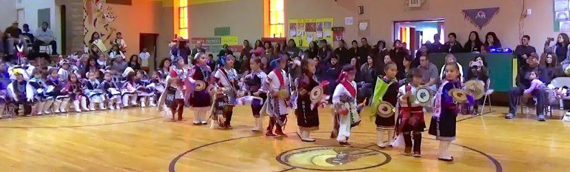 Zuni St Anthony little girls ceremony
