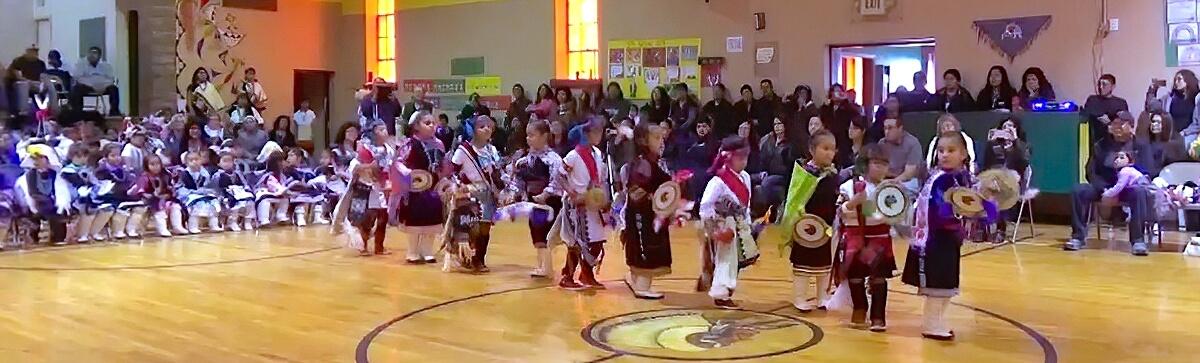 Zuni St Anthony little girls ceremony