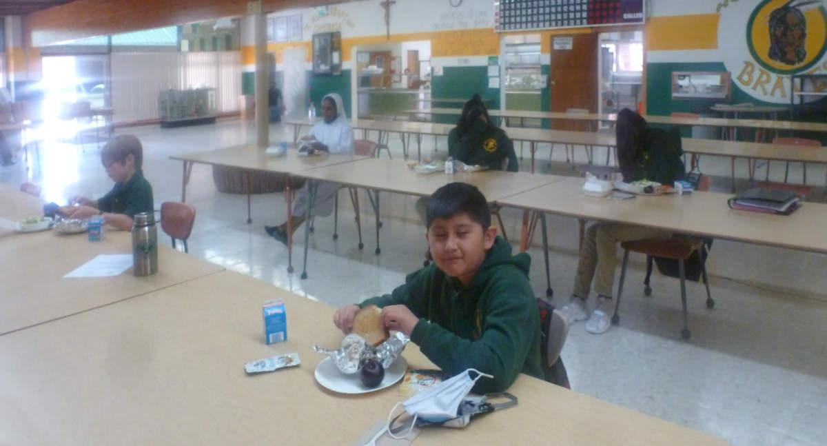 Zuni School Cafeteria Post Covid