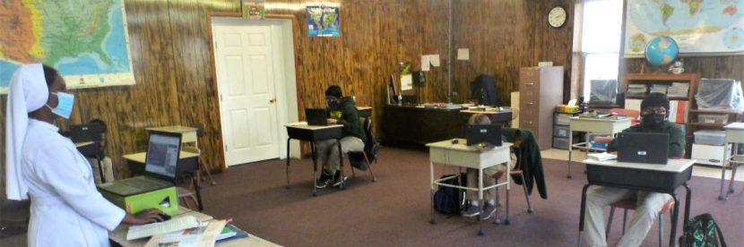 Zuni Mission School Classroom March 2021