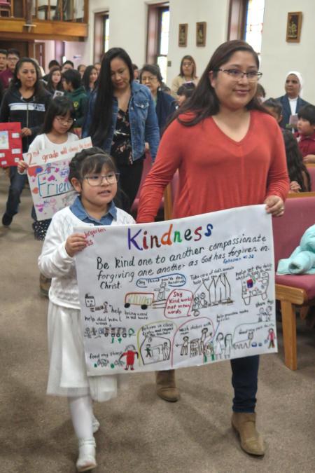 Catholic School Week Kindness