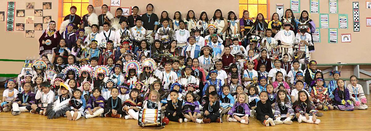St. Anthony Mission School Zuni | Happy Children