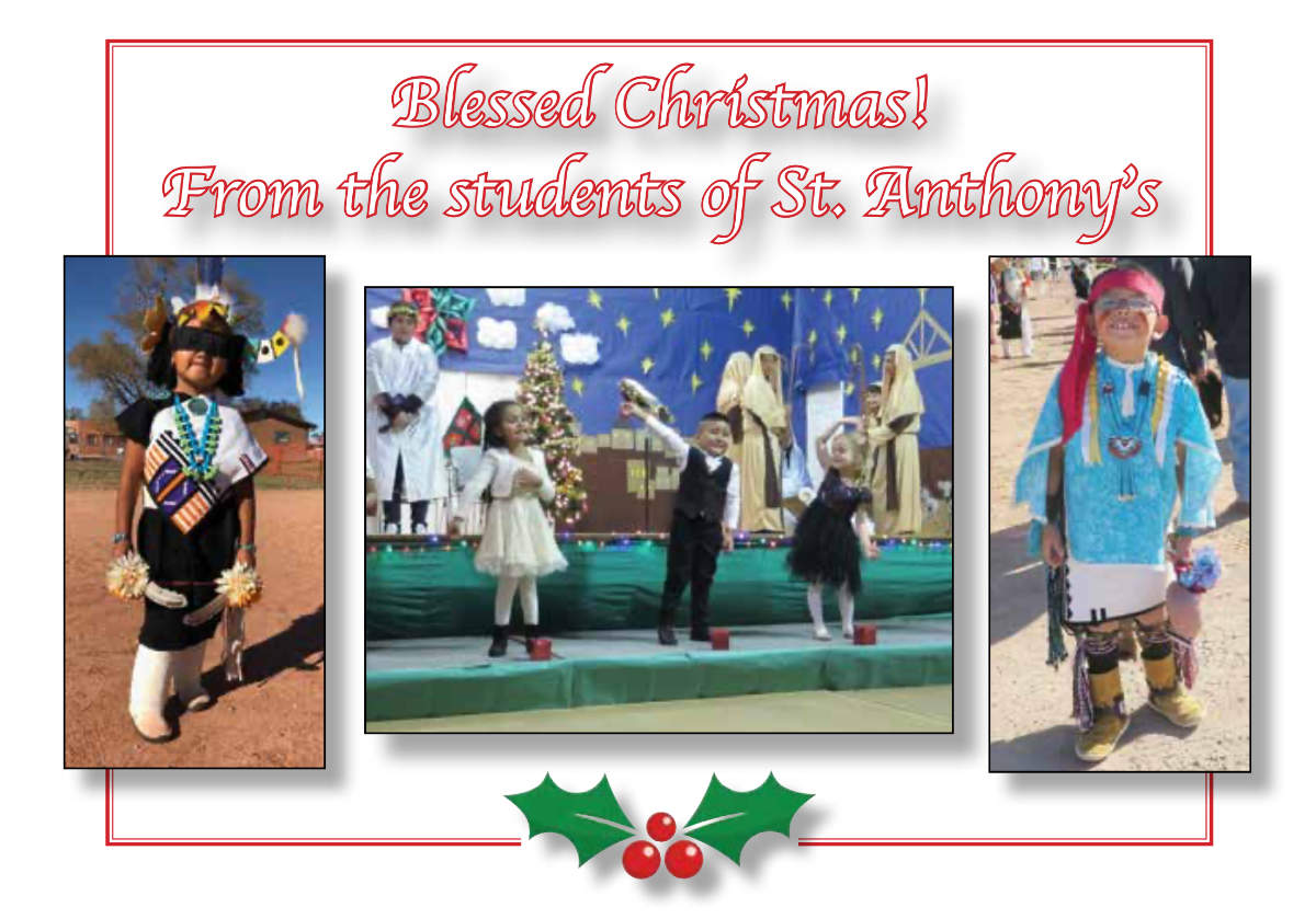 St. Anthony Indian School Zuni - Blessed Christmas 2020