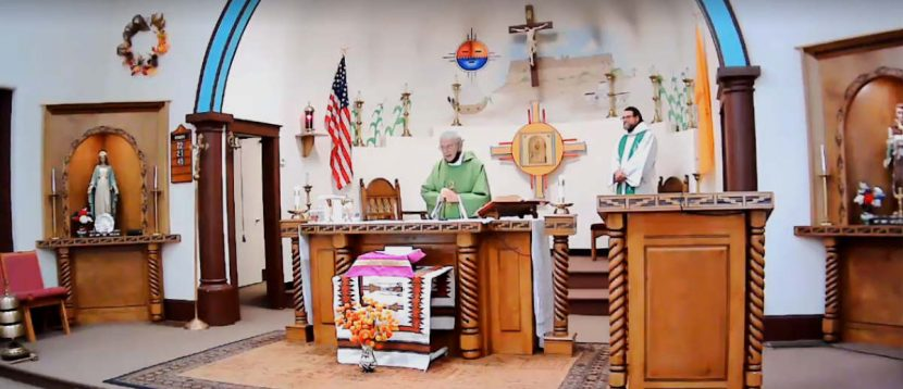 St Anthony Zuni Mass