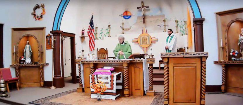 St Anthony Zuni Mass