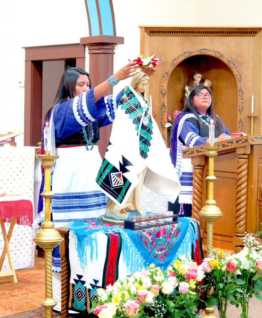Zuni Mission St Anthony's-May Crowning