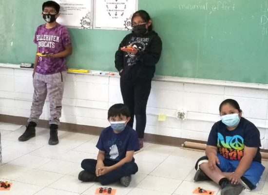 Zuni School Math & Crafts