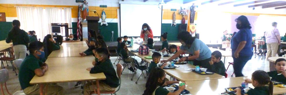 Breakfast - St. Anthony's School - Zuni