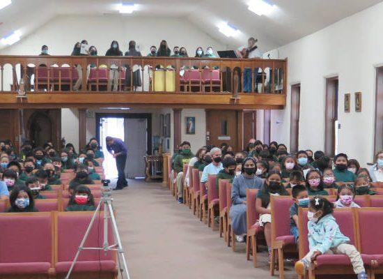 Zuni Church Attendees