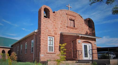 St Anthony Church Zuni