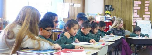 St Anthony School Zuni Tutoring