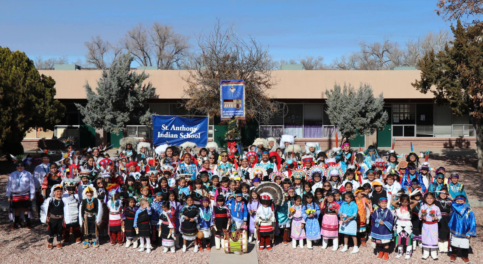 St. Anthony School Class Zuni